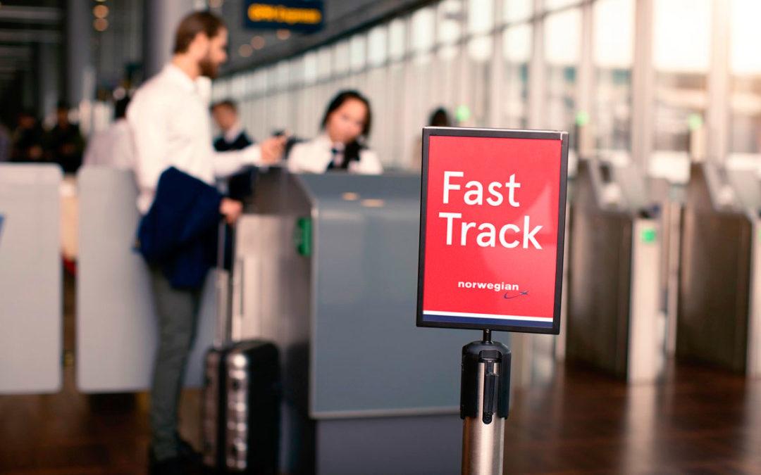 Gratis Fast Track til dere som bedriftskunde!