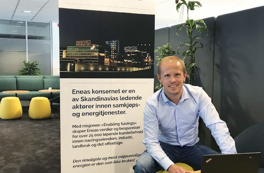 Ny avtale om energitjenester fra Eneas