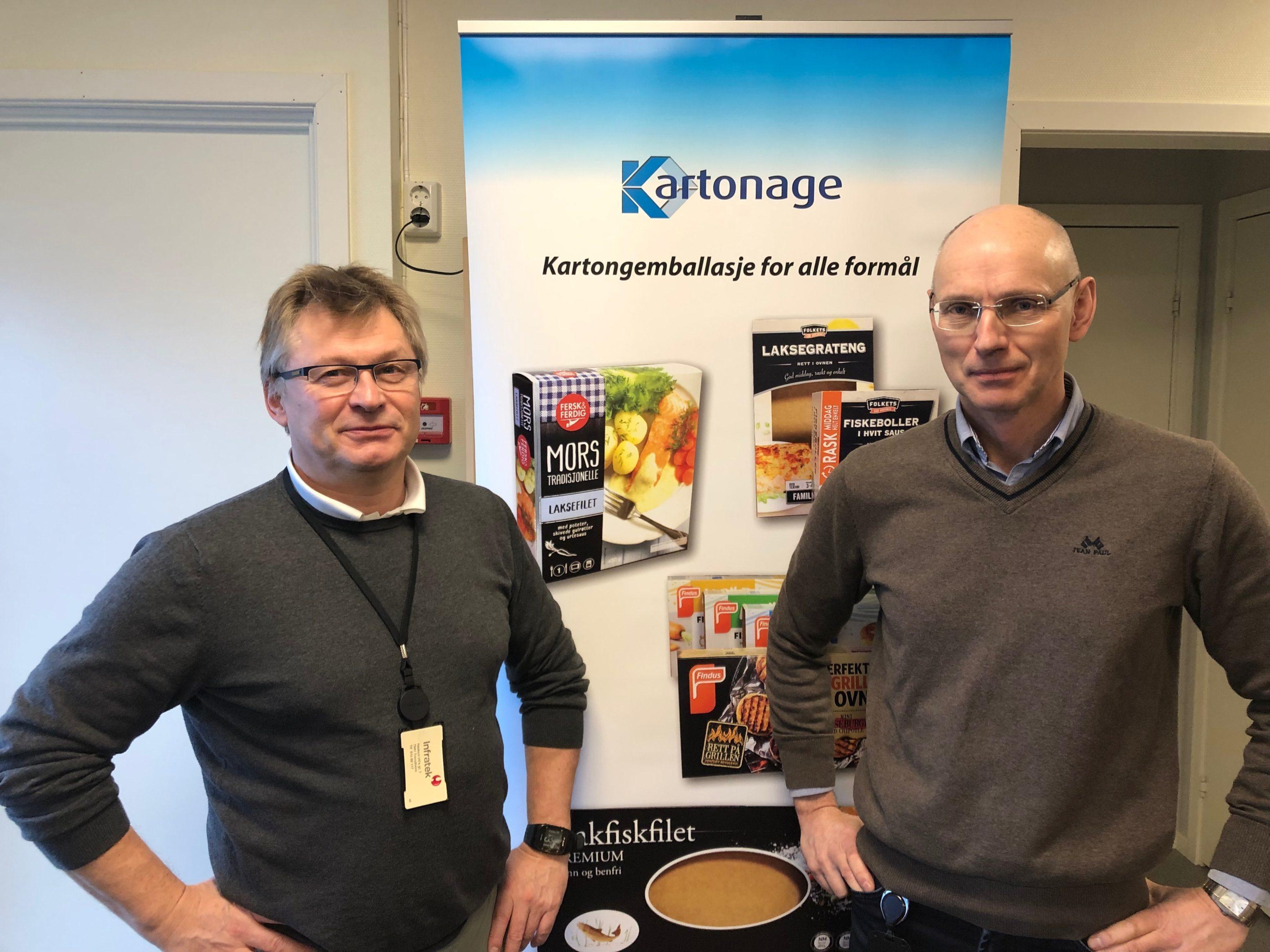Kartonage AS en ny samarbeidspartner på eske og kartong-produkter