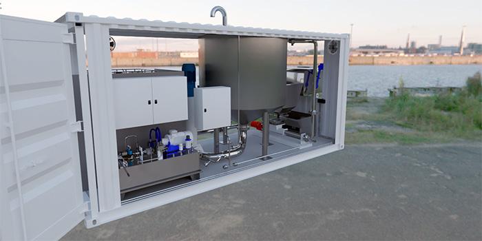 Fullautomatisert «Plug-and-Play» anlegg sikrer smart og rask ensilering av restråstoff